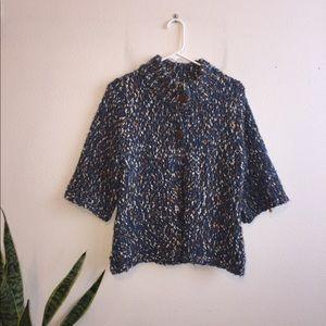 Liz Claiborne 3/4 length sleeve knit cardigan